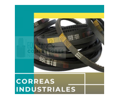 correas industriales