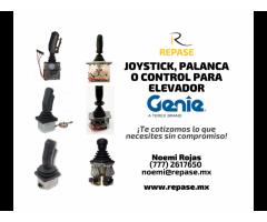 JOYSTICK, PALANCA O CONTROL DE ELEVACIÓN GENIE