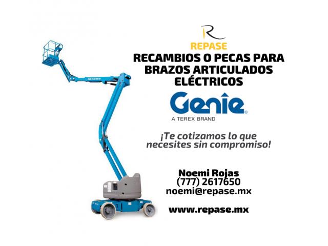 RECAMBIOS O PECAS PARA BRAZOS ARTICULADOS GENIE - 1/1