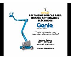 RECAMBIOS O PECAS PARA BRAZOS ARTICULADOS GENIE