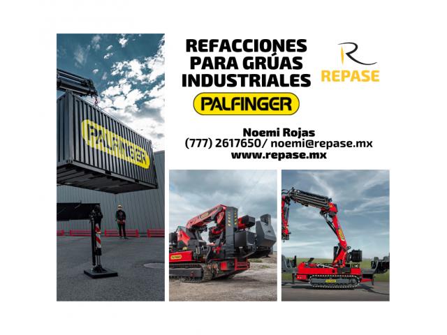 REFACCIONES PARA GRÚAS INDUSTRIALES PALFINGER - 1/1