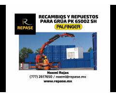 RECAMBIOS Y REPUESTOS PARA GRUAS PK 65002 SH PALFINGER