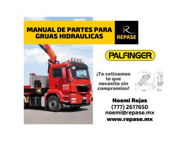 MANUAL DE PARTES PARA GRUAS HIDRAULICAS PALFINGER - 1/1