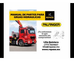 MANUAL DE PARTES PARA GRUAS HIDRAULICAS PALFINGER