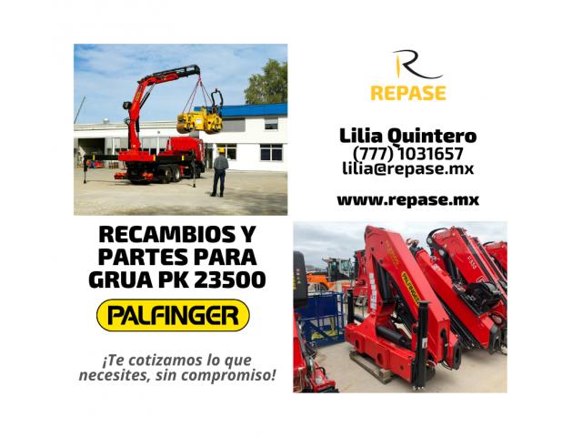 RECAMBIOS Y PARTES PARA GRUA PK 23500 PALFINGER - 1/1