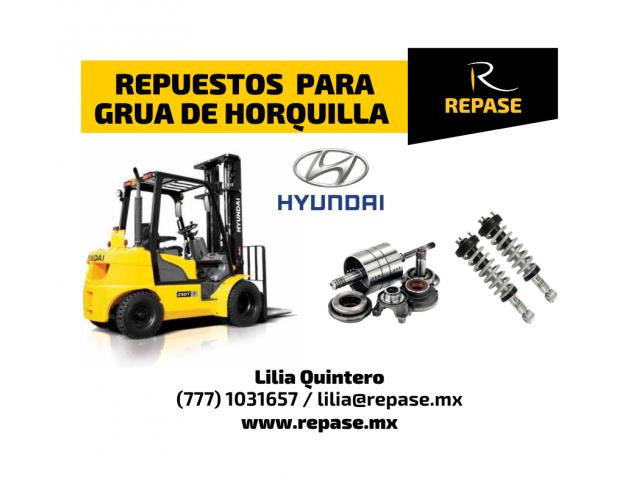 REPUESTOS PARA GRUAS HORQUILLA HYUNDAI - 1/1
