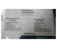Porcelanato Gris Capri 27 cajas 860$