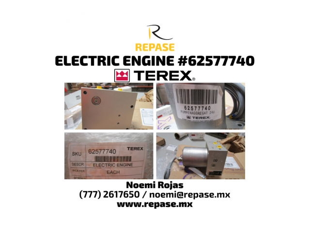 electric engine #6257740 terex - 1/1