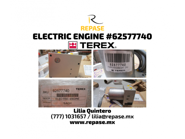 electric engine #6257740 terex - 1/1
