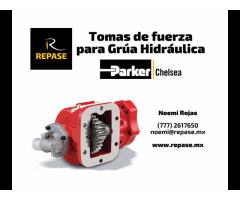 TOMA DE FUERZA PARA GRUA HIDRAULICA PARKER-CHEALSEA