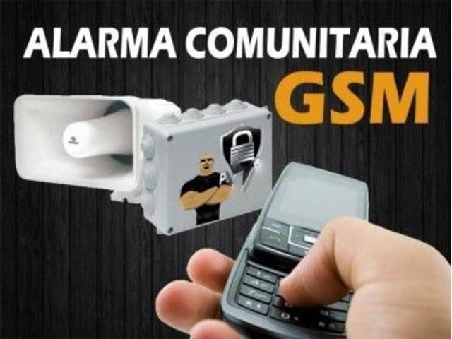 INTERCOMUNICADOR INALAMBRICO GSM con SIRENA VECINAL para Calles cerradas, Urbanizaciones y Edificios - 4/5