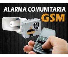 INTERCOMUNICADOR INALAMBRICO GSM con SIRENA VECINAL para Calles cerradas, Urbanizaciones y Edificios - Imagen 4/5
