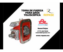 TOMA DE FUERZA PARA GRUA TELESCOPICA BEZARES