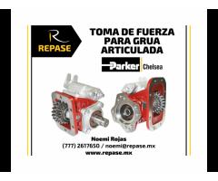 TOMA DE FUERZA PARA GRUA ARTICULADA PARKER CHELSEA