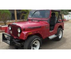 VENDO mi hermoso jeep cj5