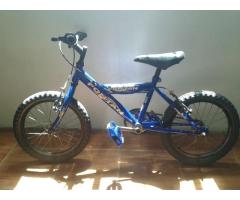Bicicleta Rin 16 Fontan Azul $60