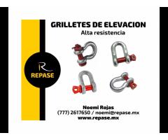 GRILLETES DE ELEVACION DE ALTA RESISTENCIA