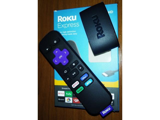Excelente Roku Express HD, WIFI, HDMI nuevo en su caja oferta - 1/3