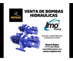 VENTA DE BOMBAS HIDRÁULICAS IMO - PUMP