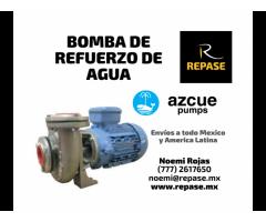 BOMBA DE REFUERZO DE AGUA AZCUE
