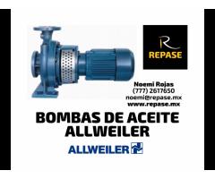 BOMBA DE ACEITE ALLWEILER