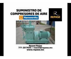SUMINISTRO DE COMPRESORES DE AIRE DE HAMWORTHY