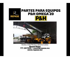 PARTES PARA EQUIPOS P&H OMEGA 20