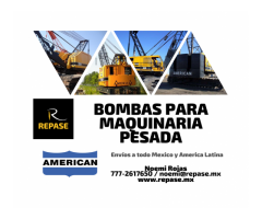 BOMBA PARA MAQUINARIA PESADA AMERICAN