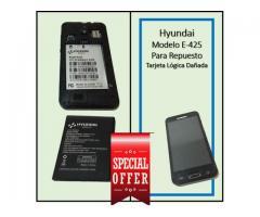 Vendo Hyundai E425 usado tarjeta lógica dañada