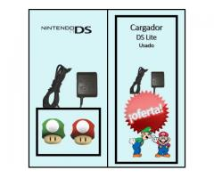 Cargador para DS Lite de Nintendo Usado en perfecto estado