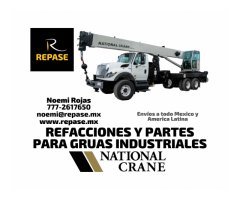 REFACCIONES PARA GRUAS INDUSTRIALES NATIONAL CRANE
