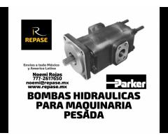 BOMBAS HIDRAULICAS PARA GRUAS INDUSTRIALES PARKER
