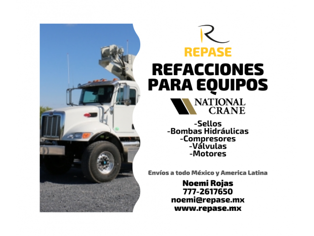 REFACCIONES PARA EQUIPOS NATIONAL CRANE - 1/1