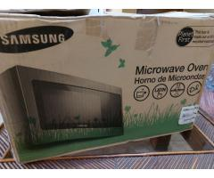 Microondas Samsung Nuevo 32 Litros Acero Inoxidable