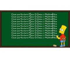 CLASES PARTICULARES MATEMÁTICA, FÍSICA Y QUÍMICA