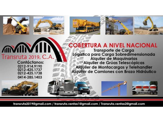 Camiones con Brazo Hidráulico Alquiler y Logistica - 1/6