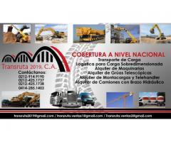 Camiones con Brazo Hidráulico Alquiler y Logistica