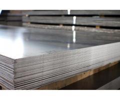 lamina de 1mm acero inoxidable 04 acabado 2B 1.22 x 2.44m