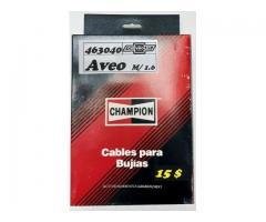 Cables para Bujías Chev. Aveo M/ 1.6 CHAMPION 15 $