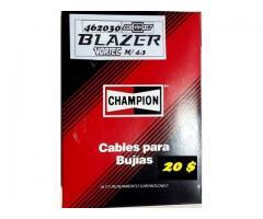Cables para Bujías Chevrolet Blazer Vortec M/ 4.3 CHAMPION  20 $