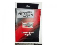 Cables para Bujías Chevrolet Blazer TBI  M/ 4.3 CHAMPION  15 $