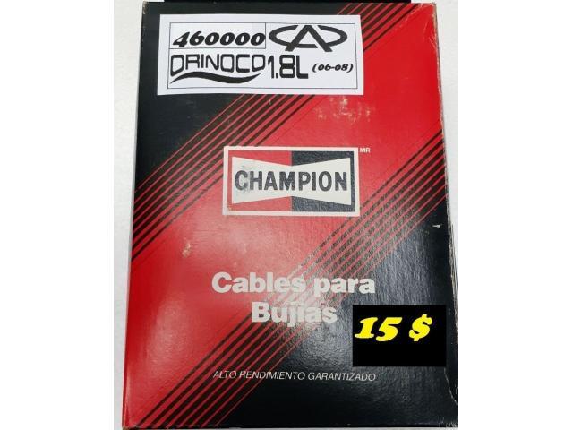 Cables para Bujías Orinoco M/ 1.8 CHAMPION  15 $ - 1/5