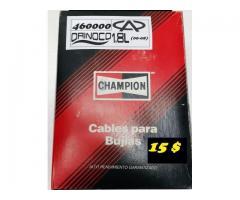 Cables para Bujías Orinoco M/ 1.8 CHAMPION  15 $