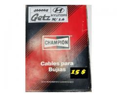 Cables para Bujías Hyundai Getz M/ 1.6 CHAMPION  15 $