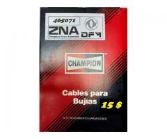Cables para Bujías ZNA DongFeng CHAMPION  15 $