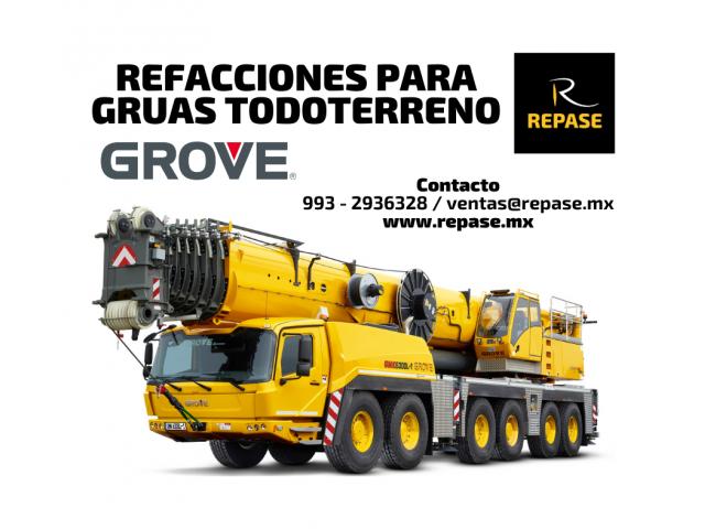 REFACCIONES PARA GRUAS TELESCOPICAS GROVE - 1/1