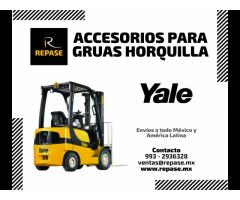 ACCESORIOS PARA GRUAS HORQUILLA YALE