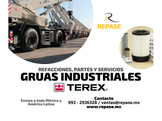 REFACCIONES Y PARTES PARA GRUAS TEREX - 1/1