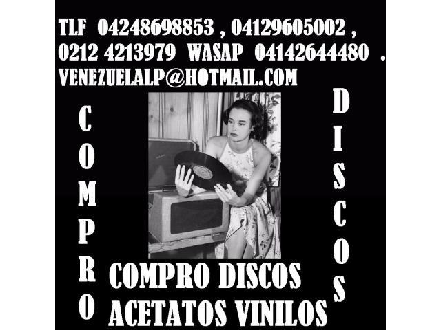 Compro discos lp, acetatos, al mejor precio, viniles, todo tipo, cds, equipos, - 4/6