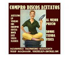 Compro discos lp, acetatos, al mejor precio, viniles, todo tipo, cds, equipos, - Imagen 5/6